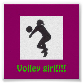 Volley girl!!!! poster