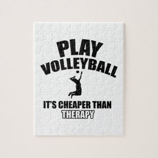 volleyall designs jigsaw puzzle