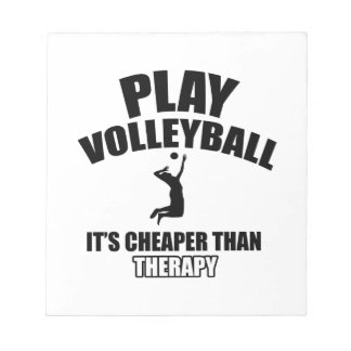 volleyall designs notepad