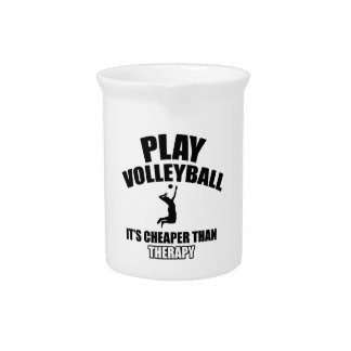 volleyall designs pitcher
