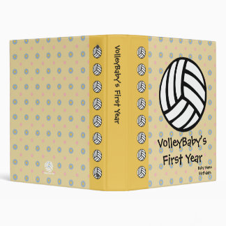 VolleyBaby Dots Custom Album 3 Ring Binders