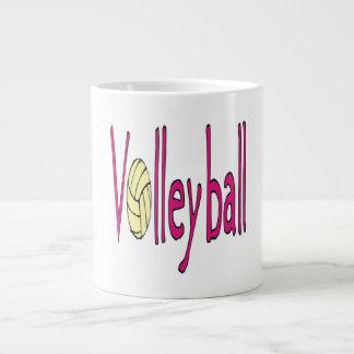 Volleyball 9 large coffee mug