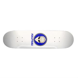 Volleyball Alien Skate Board
