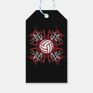 Volleyball Art Custom Gift Tags