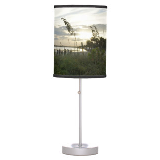 Volleyball at the Beach Table Lamp