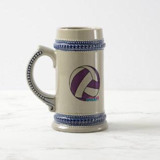 Volleyball Beer Stein