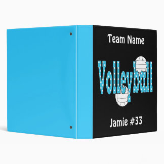 Volleyball Binder