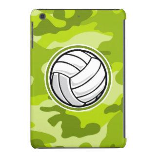 Volleyball bright green camo camouflage iPad mini cover