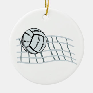 Volleyball Ceramic Ornament