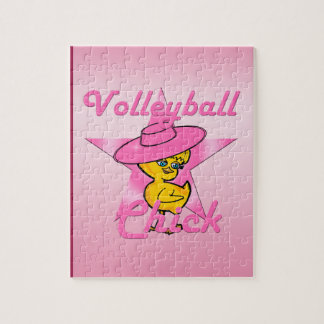 Volleyball Chick #8 Puzzles