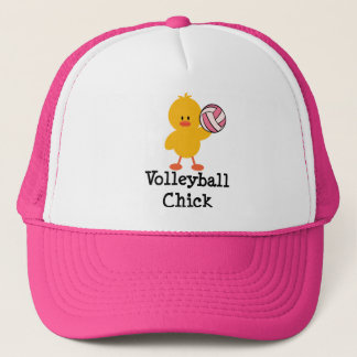 Volleyball Chick Hat