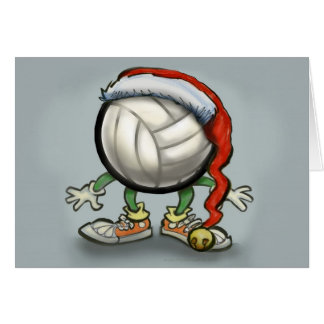 Volleyball Christmas Card