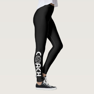 Volleyball Coach Leggings