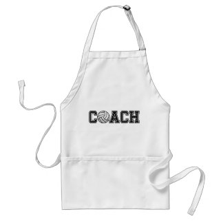 Volleyball Coach Standard Apron
