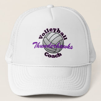 Volleyball Coach Trucker Hat
