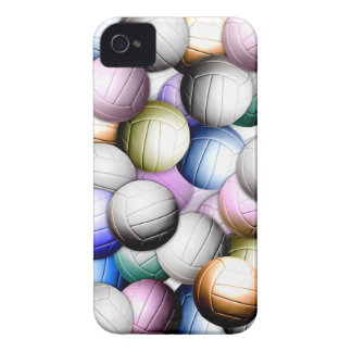 Volleyball Collage iPhone 4 Case-Mate Case