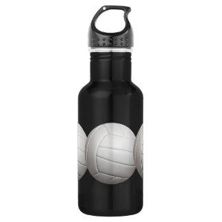 Volleyball custom 532 ml water bottle