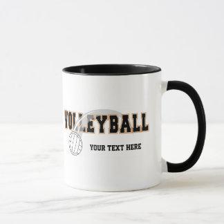 Volleyball (customizable) mug