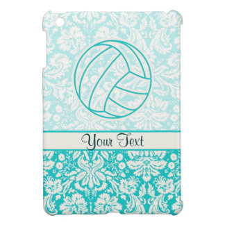 Volleyball; Cute Teal iPad Mini Case