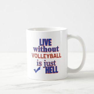 VOLLEYBALL DESIGn Coffee Mug