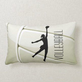 Volleyball Design Throw Pillow