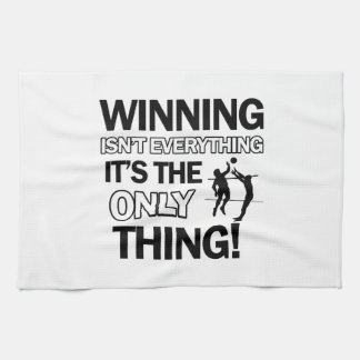 volleyball Designs Kitchen Towel