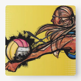 Volleyball DIGG - Wall Clock