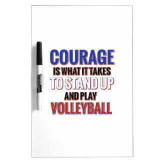 VOLLEYBALL DRY ERASE BOARD