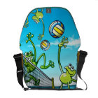 Volleyball Frog Commuter Bag