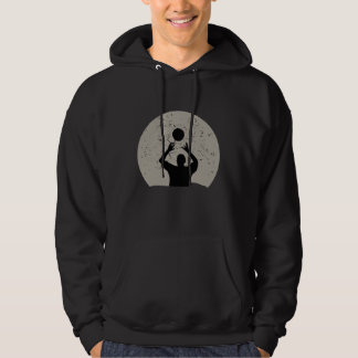 Volleyball Full Moon Hoodie