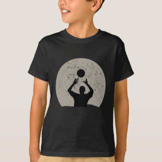 Volleyball Full Moon T-Shirt