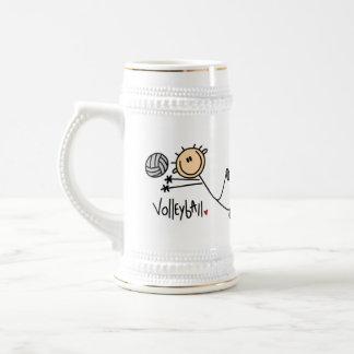 Volleyball Gift Beer Stein