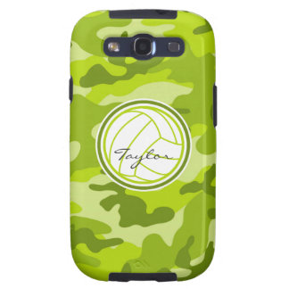 Volleyball green camo camouflage galaxy s3 case