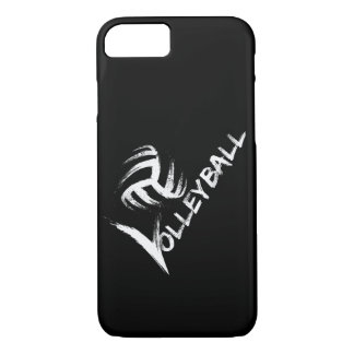 Volleyball Grunge Streak iPhone 7 case