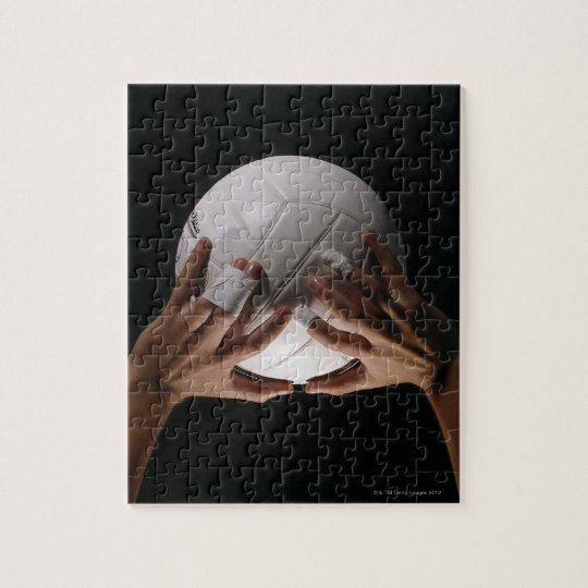Volleyball Hands Jigsaw Puzzle