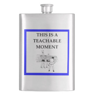 volleyball hip flask