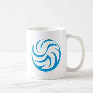 Volleyball Icon Classic White Coffee Mug