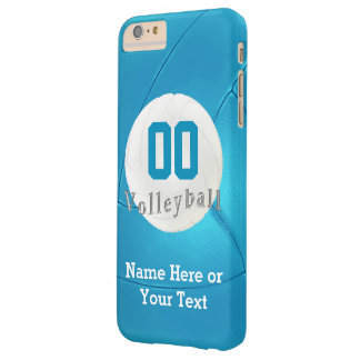 Volleyball iPhone 6 PLUS Cases with Number, Name