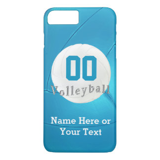 Volleyball iPhone 7 PLUS Cases with Number, Name