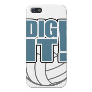 Volleyball iPhone Case: Dig it! iPhone 5 Cover