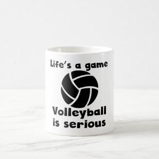 Volleyball Is Serious Coffee Mug