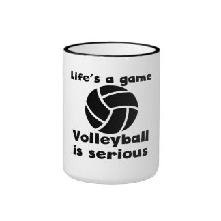 Volleyball Is Serious Coffee Mugs