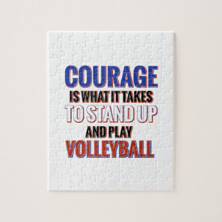 VOLLEYBALL JIGSAW PUZZLE
