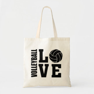 Volleyball Love, Volleyball Tote Bag