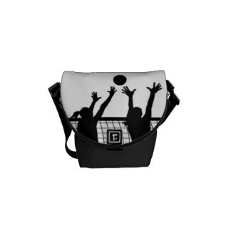 Volleyball Mini Messenger Bag