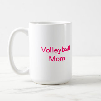 Volleyball Mom coffee mug