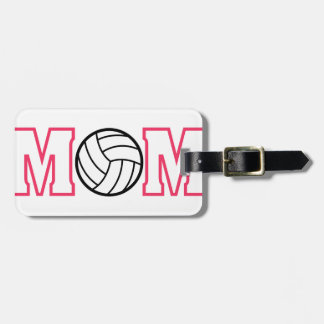 Volleyball Mom Luggage Tag