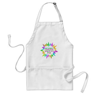Volleyball More Fun Standard Apron