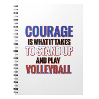 VOLLEYBALL NOTE BOOKS