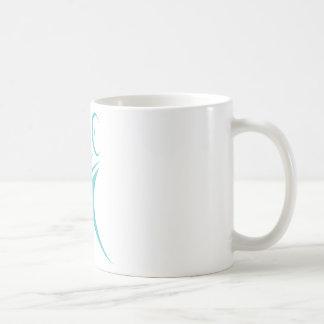 Volleyball Player Icon Classic White Coffee Mug